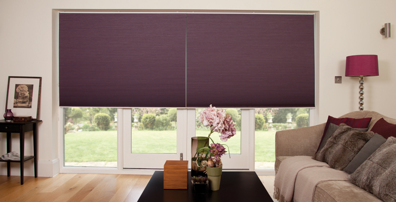 pleated blinds for winter