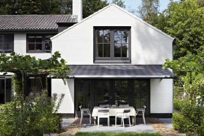 modern garden awning