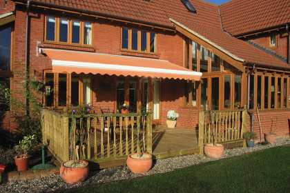 awning over decking