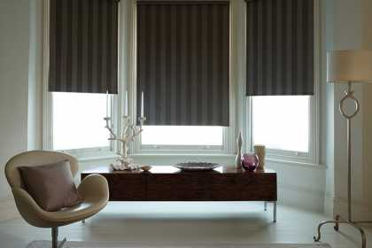 Stripe Blackout Blinds