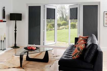 stripe perfect fit blinds