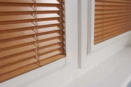 wooden perfect fit blinds