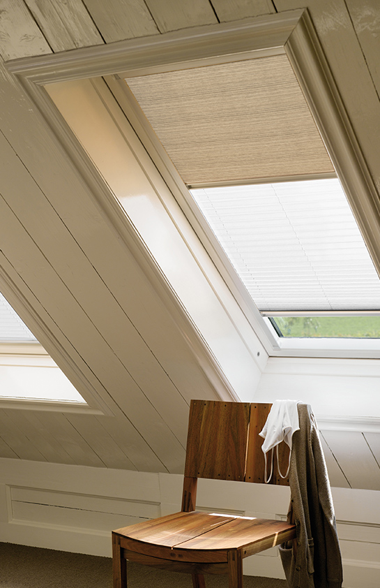 Conservatory Roof Conversion >> Made to Measure Velux Blinds | Burton upon Trent & Kettering | Denton Blinds